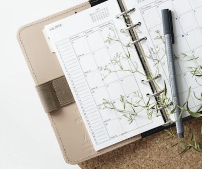 Kalender mit Wochenansicht